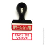 Image of Face de vulve.