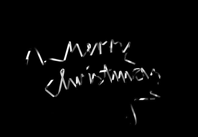 Image of Black and White Christmas