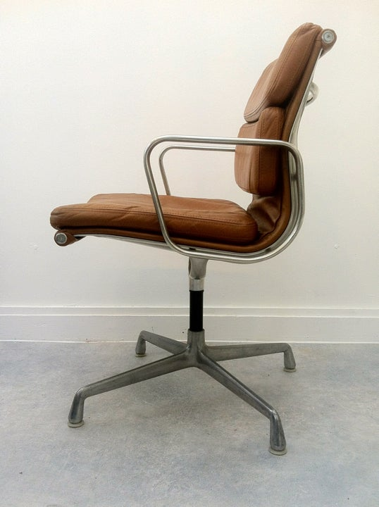 Image of Pair of Eames Soft Pad Chairs
