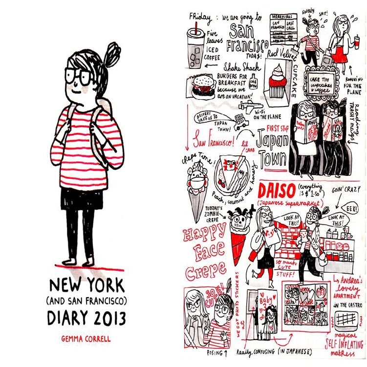 Image of Gemma Correll - New York (and San Francisco) Tour Diary