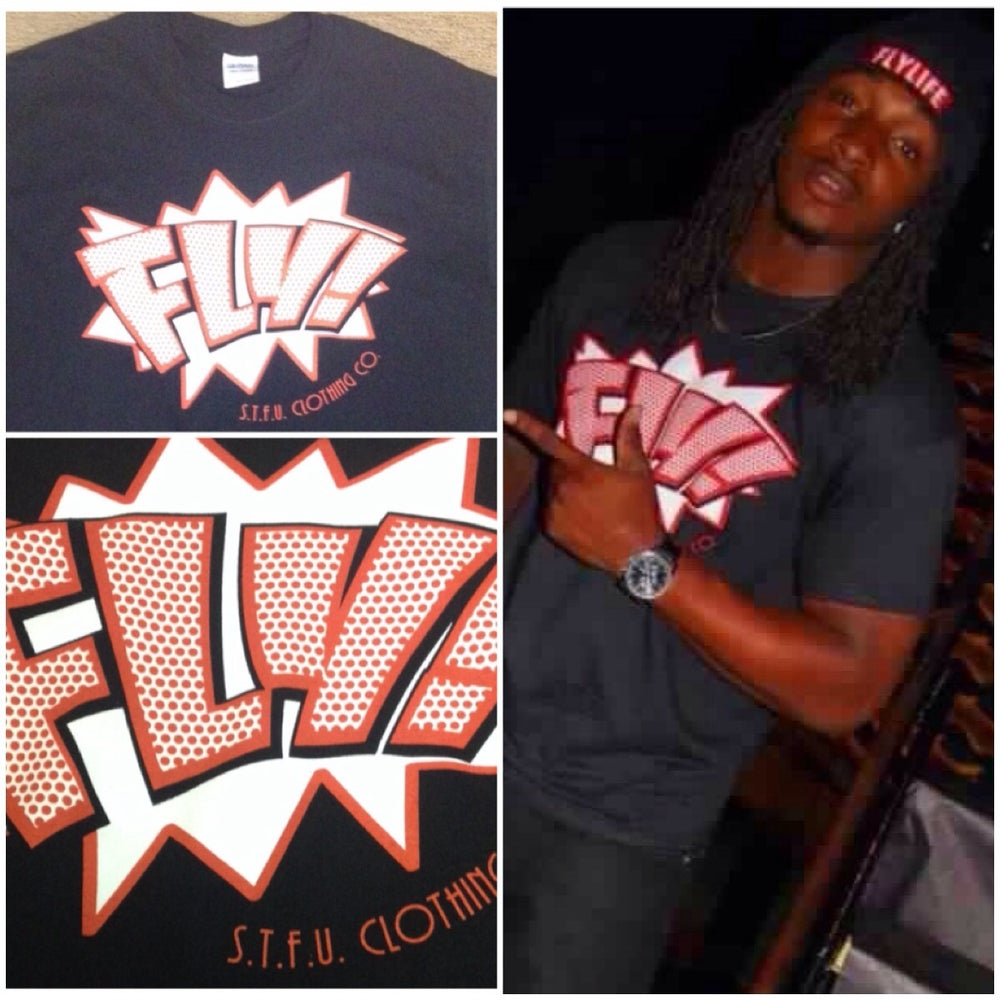 Image of Black FLY! Part 2 Tee