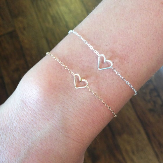 Image of Tiny Heart Bracelet