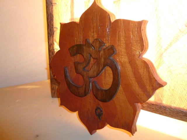 Image of Lotus Flower Om