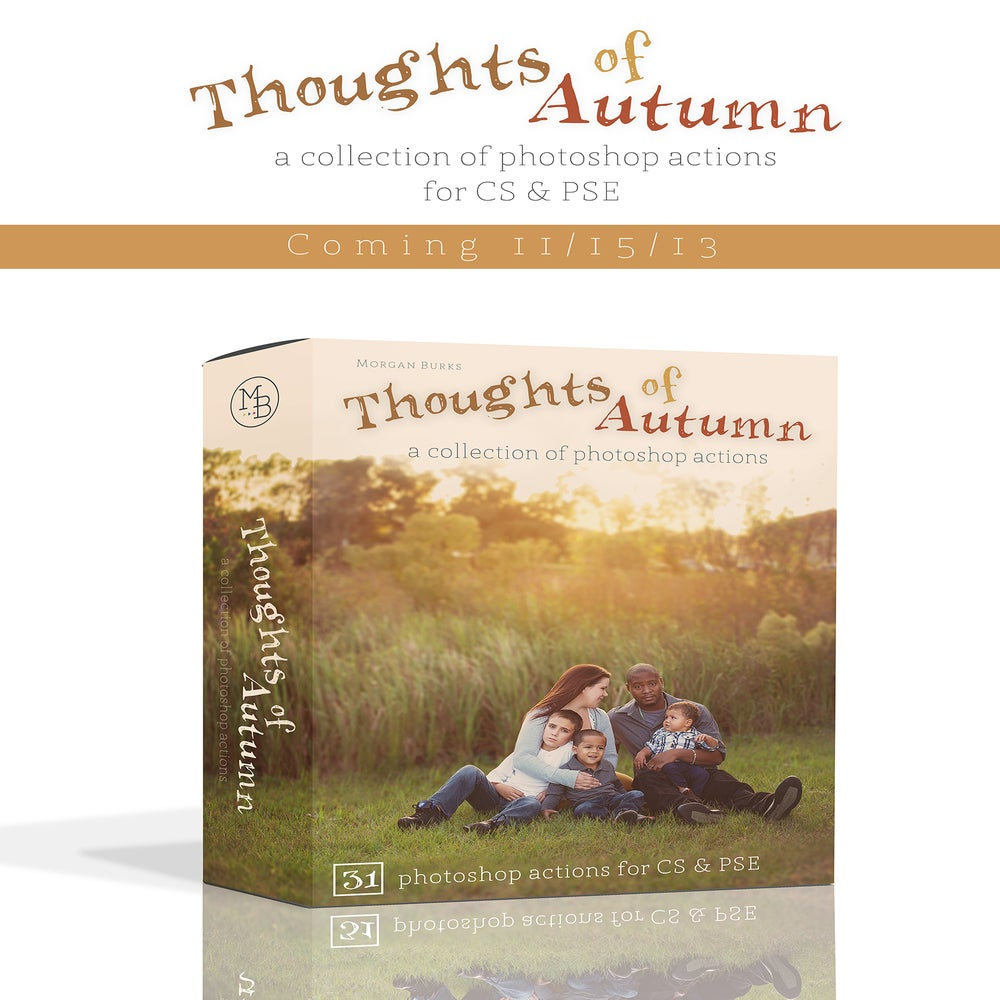 Image of MB Thoughts of Autumn Photoshop Actions Collection