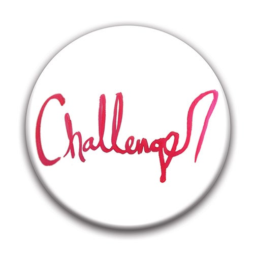 """Image of Challenger 1.5"""" pin-back button"""