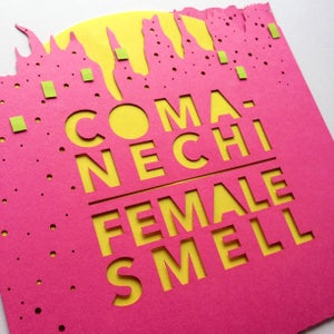 """Image of H.A.T.E. split 7"""" with Female Smell"""
