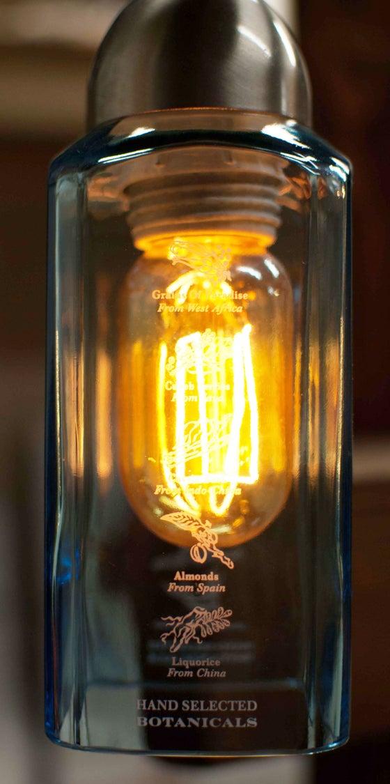 Image of Bombay Sapphire Hanging Pendant Light
