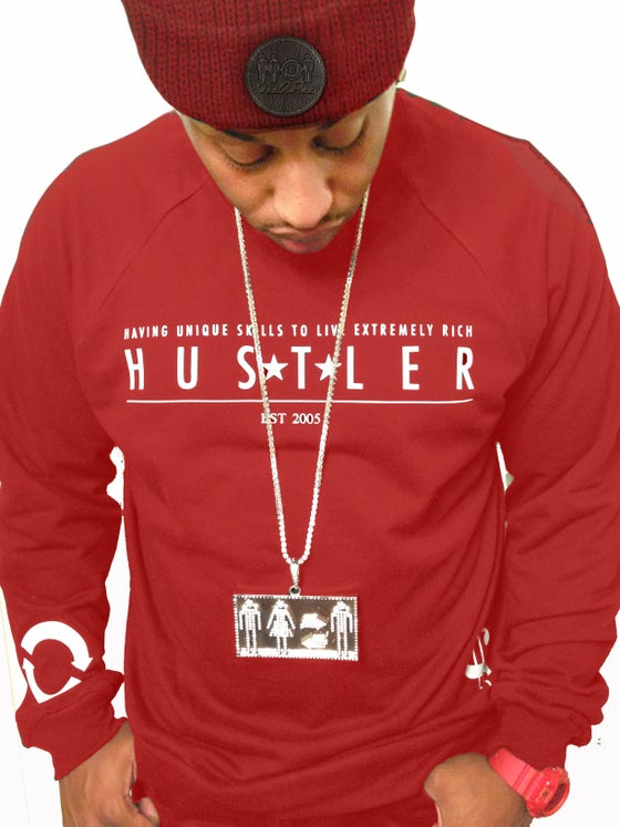 Image of HUSTLER- Red
