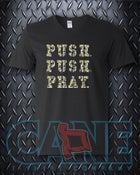 Image of push Push Pray V-neck Adult 3X-Large