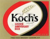 Image of Koch Brewing Company - Koch's Golden Anniversary