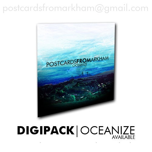 Image of POSTCARDS FROM ARKHAM - OCEANIZE Digipack