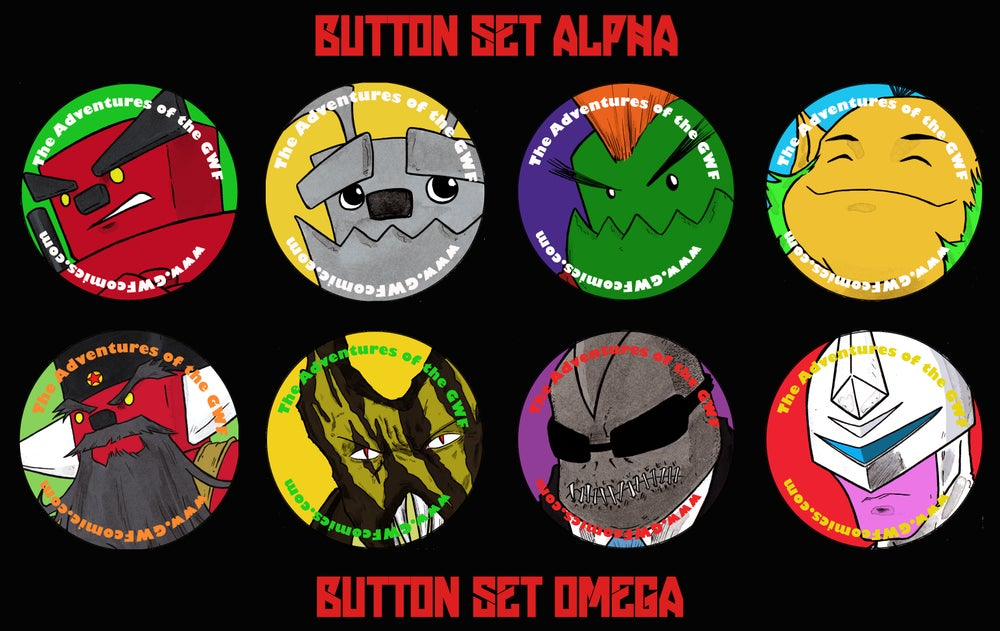 Image of Alpha/Omega Button Sets