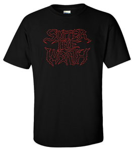 Image of Suffer Logo Shirt with 2 FREE Vinyl Stickers