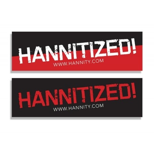 """Image of """"Hannitized!"""" Bumper Sticker Set (HSTKR-SET)"""