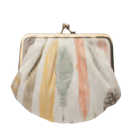 Image of Sophie Clutch: Quill Linen Bag