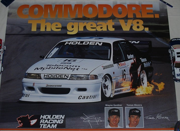 Image of HOLDEN RACING TEAM COMMODORE - THE GREAT V8. HRT.