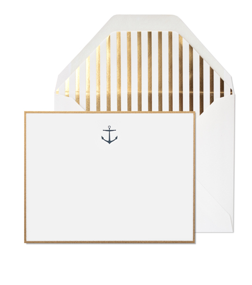 Image of Navy Anchor Noteset