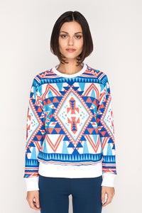 Image of BLM Native2 Womens Sweatshirt