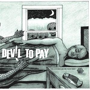 "Image of Ten Lizardmen & One Pocketknife 7"" vinyl"