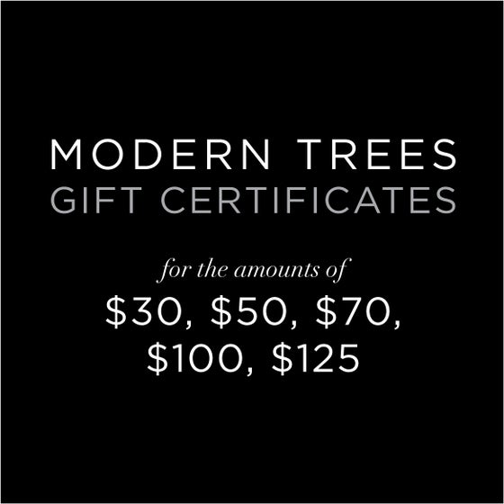 Image of Gift Certificate $30-$125