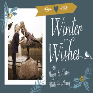 Image of Winter Wishes Christmas Card