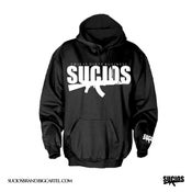 Image of Black Hoodie Sucios Offical