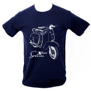 Image of SX200 T-SHIRT - NAVY BLUE.