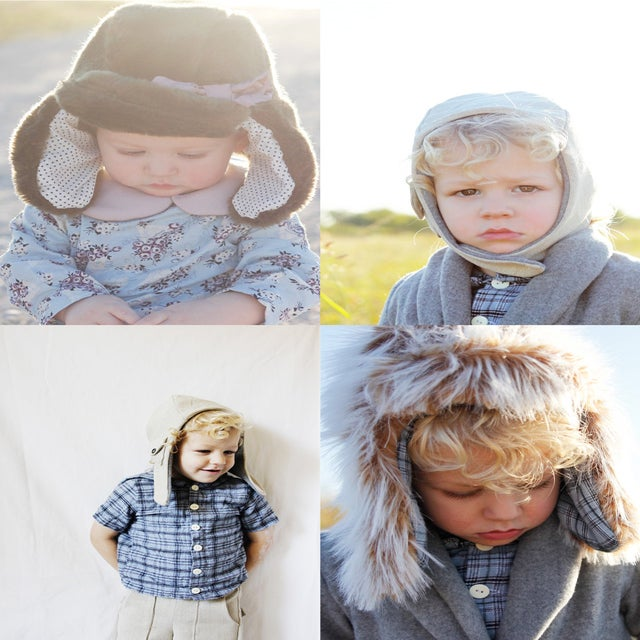 Image of ARCTIC/PILOT hat set - 2 hat bundle