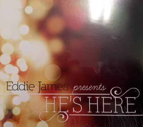 Image of Accompaniment Track's He's Here Christmas CD