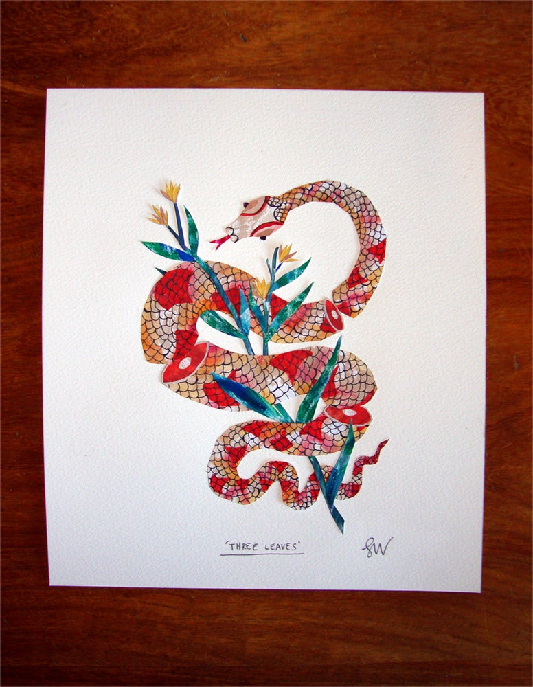 Image of Three Snake-Leaves