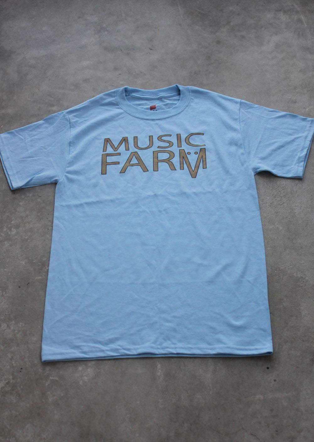Image of Music Farm Round Neck Hane's Tee