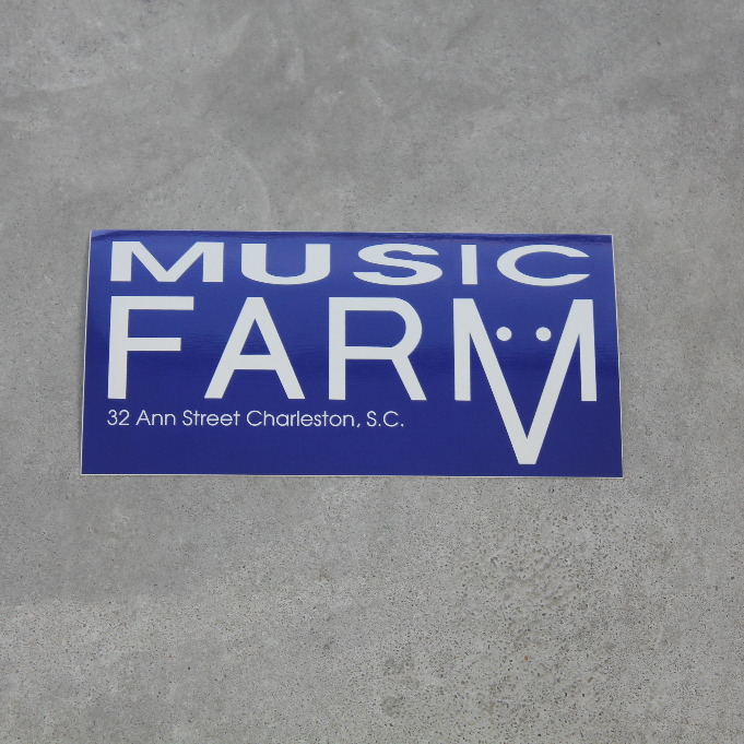 Image of Music Farm Sticker