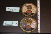 Image of TNP Owl Patches (Sand) Preorder