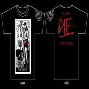 "Image of D.I.E. Ed Gein ""The Hermit"" Tarot Shirt"