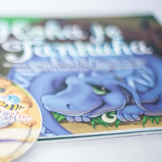 Image of Hoha te Taniwha // Book + Audio CD