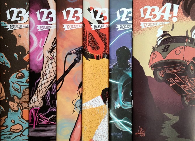 Image of Revista 1234! Números impresos