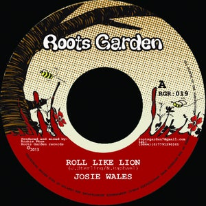 "Image of 7"" Josie Wales 'Roll Like Lion' / Richie Phoe 'Dub Like Lion'"