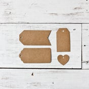 Image of Kraft Tags