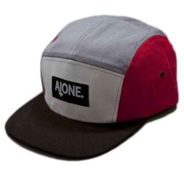 Image of Red/Grey 5 Panel