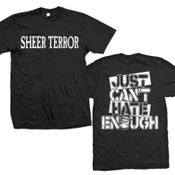 "Image of SHEER TERROR ""Just Can't Hate Enough"" T-Shirt"