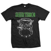 "Image of SHEER TERROR ""Bulldog Silhouette"" T-Shirt"