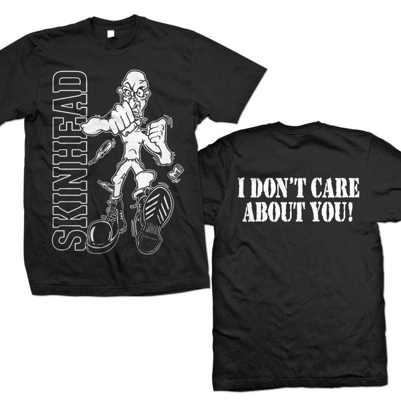 Dead City Records Merchandise Skinhead Quot I Don T Care