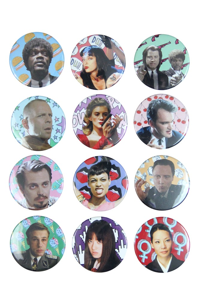 Image of QUENTIN TARANTINO BUTTONS