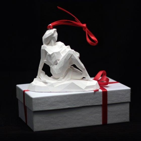 Image of White Lady Christmas decoration