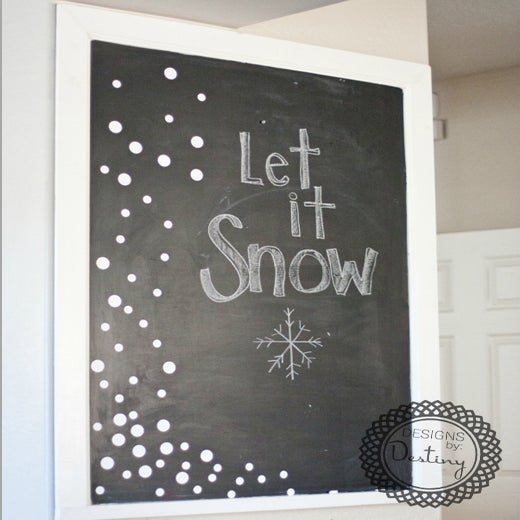 Image of Falling Snow Polka Dot Kit