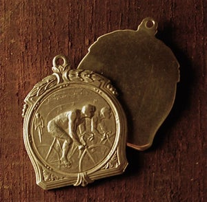 Image of The Race is on 100% Sterling Silver