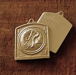 Image of Live to ride 100% Sterling Silver
