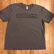 Image of Wisconsin Foodie T Shirts - Gray / Green