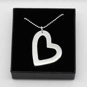 Image of Large Heart Necklace