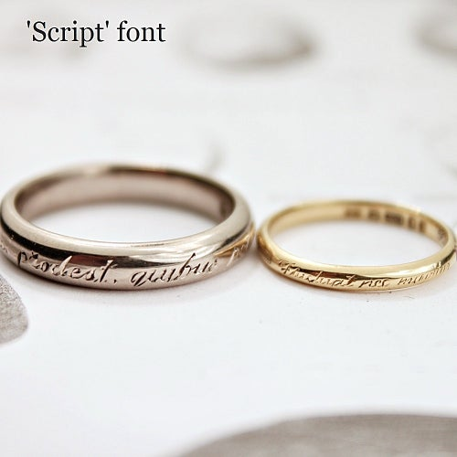 Image of 10 letters of personal engraving